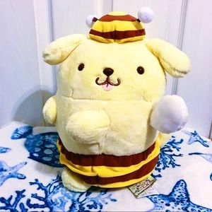 NWT 🐝🍯 Pompompurin Bee Plush